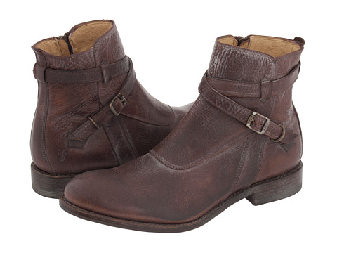 Ghete Frye - Jayden Crosstrap - Dark Brown Vintage Leather