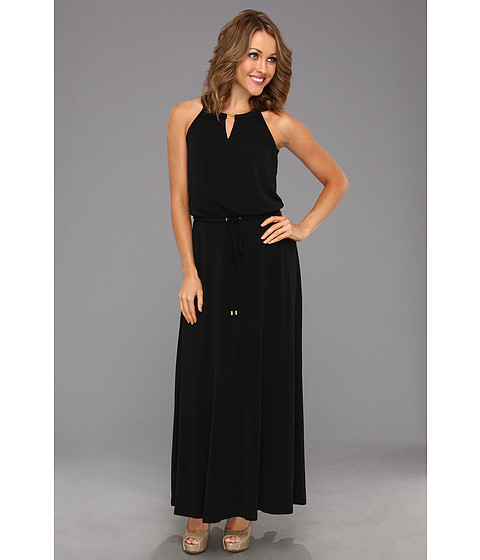Rochii Calvin Klein - Keyhole Maxi Dress - Black