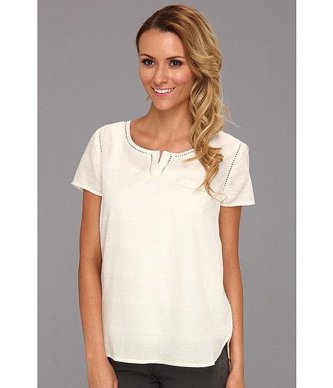 Tricouri Calvin Klein - Woven Top - Shell