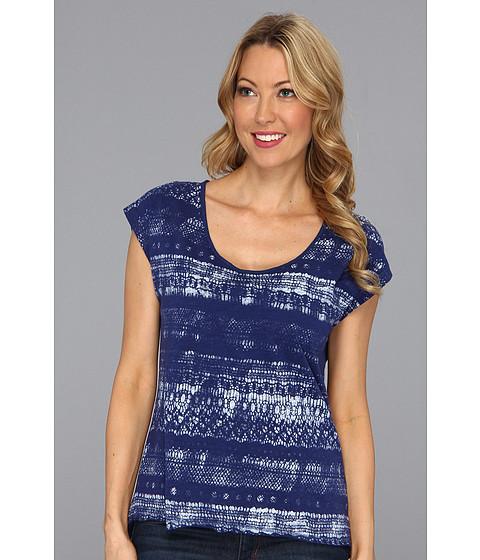 Tricouri Calvin Klein - Spray Lace Knit - Indigo