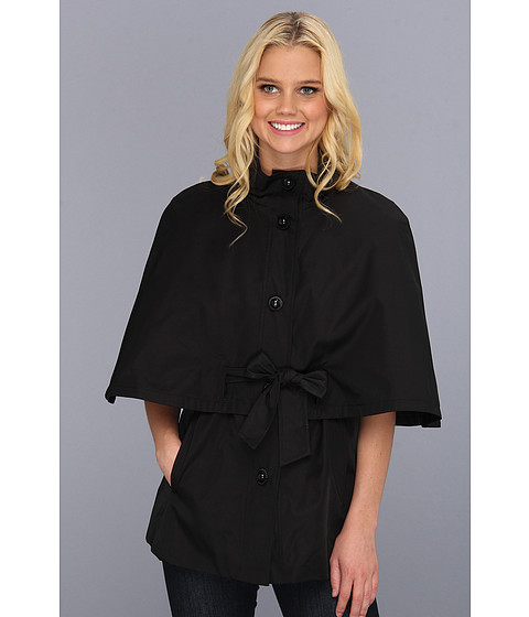 Jachete Betsey Johnson - Belted Cape Jacket - Black