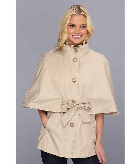 Jachete Betsey Johnson - Belted Cape Jacket - Vintage Taupe