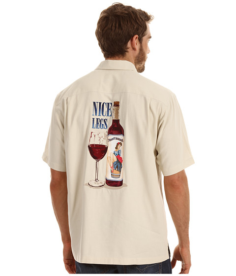 Camasi Tommy Bahama - Nice Legs Camp Shirt - Twine