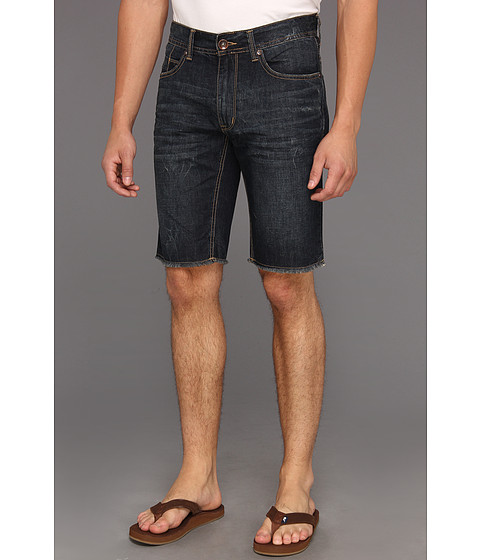 Pantaloni DKNY - Bleecker Short in Lenox Dark Wash - Lenox Dark Wash