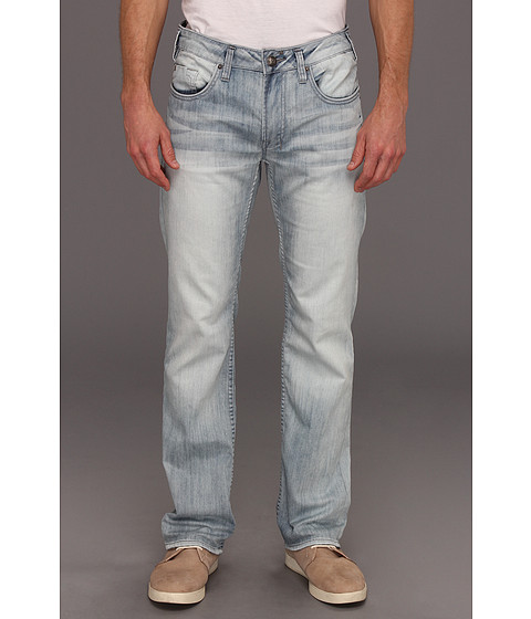 Blugi Buffalo David Bitton - Six Basic Ventura Jean in Worked and Sandblasted - Worked and Sandblasted
