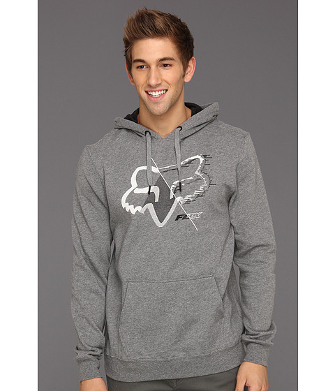 Bluze Fox - Overdrone Pullover Fleece Hoodie - Heather Graphite