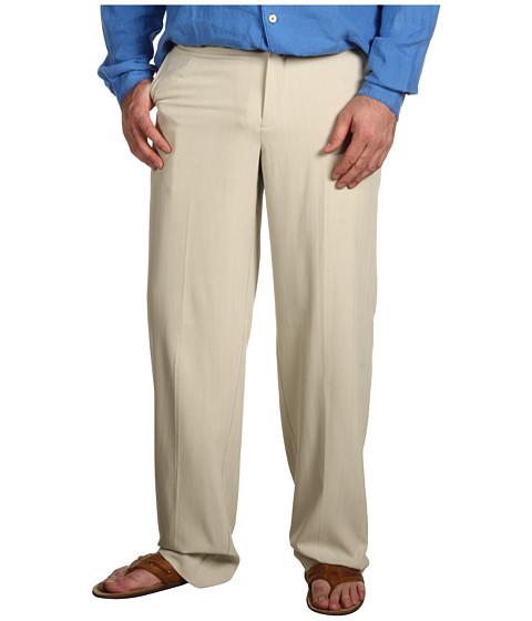 Pantaloni Tommy Bahama - Big & Tall Flying Fishbone Flat Front Pant - Khaki Sands