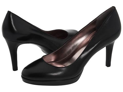 Pantofi Calvin Klein - Odette - Black Kidskin