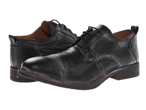 Pantofi Steve Madden - Gunza - Black Leather