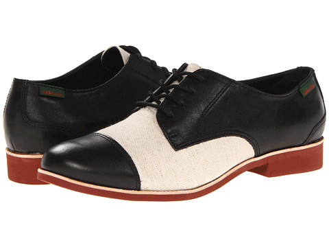 Pantofi Bass - Terri - Black/Natural