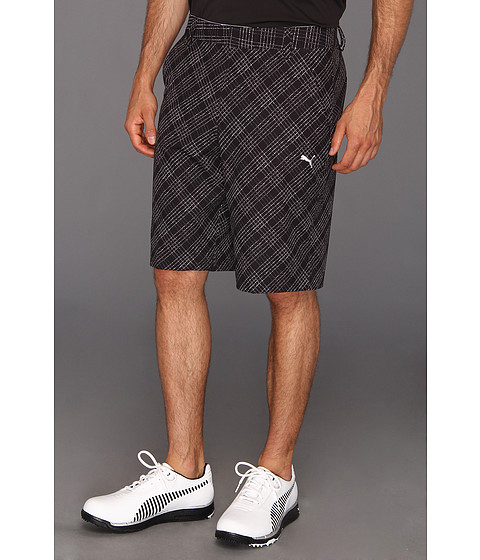 Pantaloni PUMA - New Wave Printed Plaid Short - Black