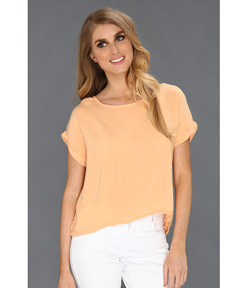 Bluze Alternative Apparel - Nikko Top - Peach Fuzz