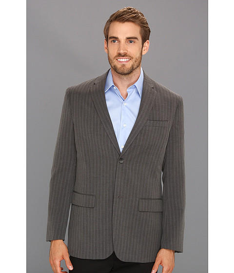 Jachete Perry Ellis - Herringbone Stripe Jacket - Slate