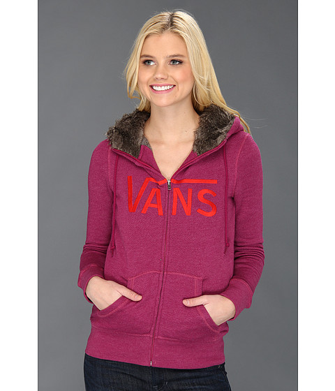 Bluze Vans - Command Zip-Up Hoodie - Boysenberry Heather