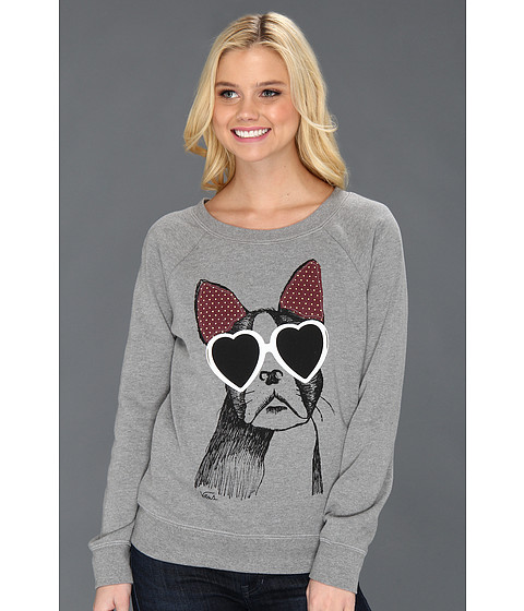 Bluze Vans - Fugitive Dog Pullover Fleece - Grey Heather