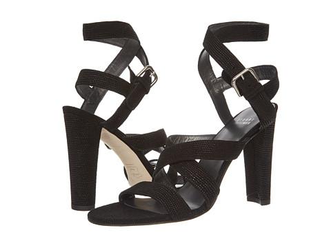 Pantofi Stuart Weitzman - Fitzme - Black Goose Bump Nappa