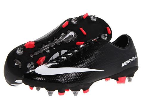 Adidasi Nike - Mercurial Veloce SG Pro - Black/Dark Charcoal/Atomic Red/White