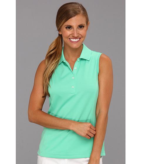 Bluze adidas - ClimaLiteî Solid Sleeveless Polo - Cerulean