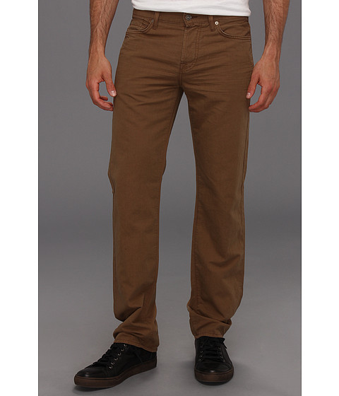 Blugi 7 For All Mankind - Standard in Summer Linen - Tobacco