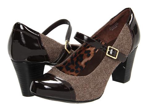 Pantofi Clarks - Sapphire Juno - Brown/Brown Patent