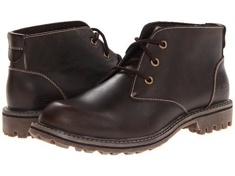 Ghete SKECHERS - Roven Vellore - Dark Brown
