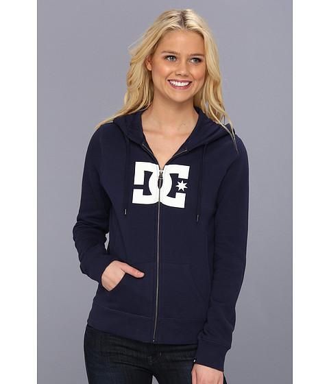 Bluze DC - Star E Zip Hoodie - DC Navy