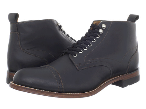 Pantofi Stacy Adams - Madison Boot - Black Leather