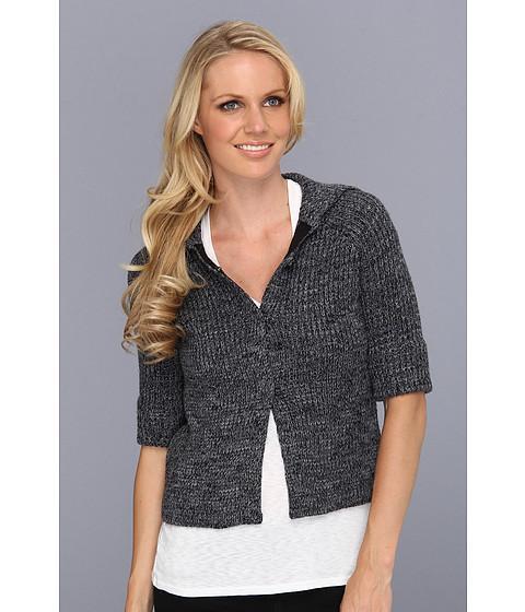 Bluze BCBGMAXAZRIA - Nash Tweed Ribber Sweater - Medium Heather Grey Combo
