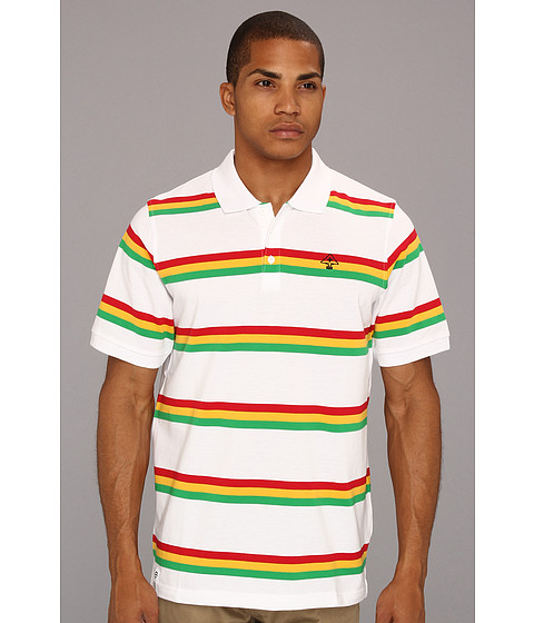 Tricouri L-R-G - Up Rock S/S Polo - White