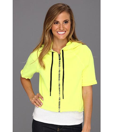 Bluze Fox - Unite Zip Hoody - Day Glow Yellow