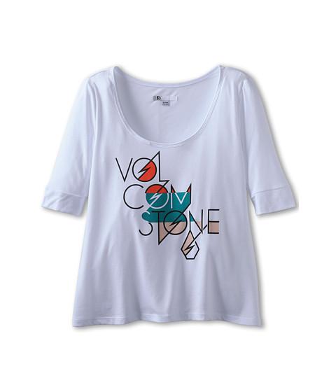 Tricouri Volcom - My Ex Top - White