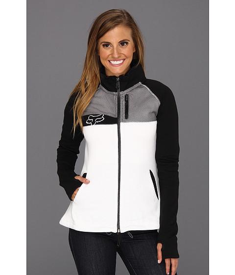Bluze Fox - Medalist Track Jacket - White
