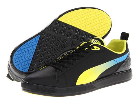 Adidasi PUMA - Future Suede Lite Lo Fluo - Black