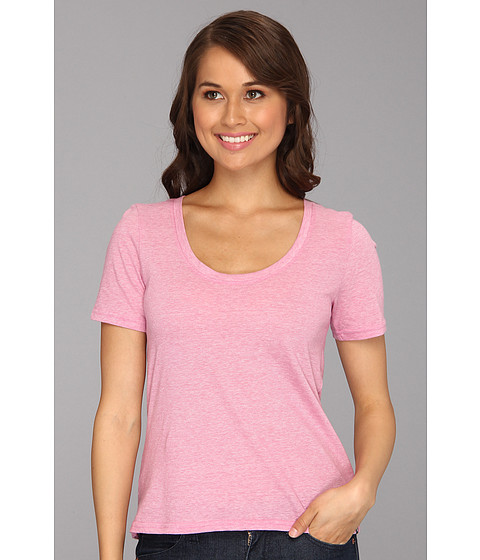 Tricouri Hurley - Solid Scoop S/S T-Shirt - Sunset Pink