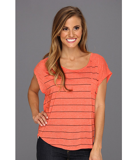 Tricouri Volcom - Moclov Encircle Tee - Electric Orange
