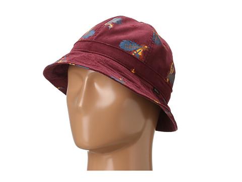 Sepci Obey - Serpico Bucket Hat - Burgundy