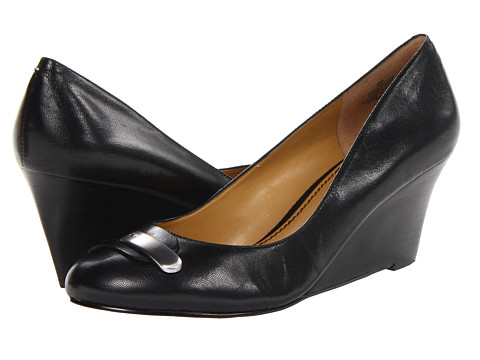 Pantofi Nine West - GetAClue - Black Leather