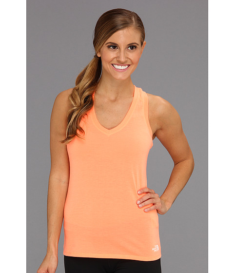 Bluze The North Face - Reaxion Tank - Electro Coral Orange