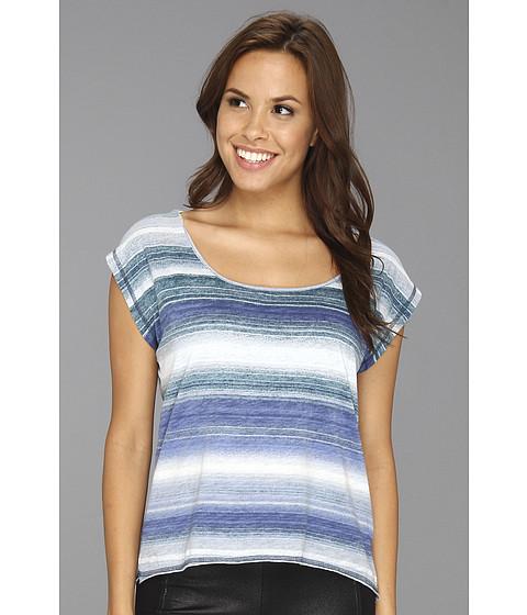 Tricouri Calvin Klein - Horizon Stripe Top - Biro Blue