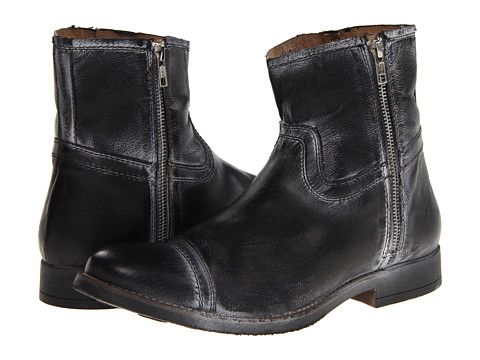 Ghete Steve Madden - Forza - Black Leather