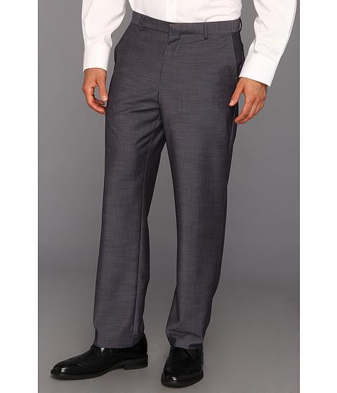 Pantaloni Calvin Klein - Classic Fit Fine Slub Pant - Ombre Blue