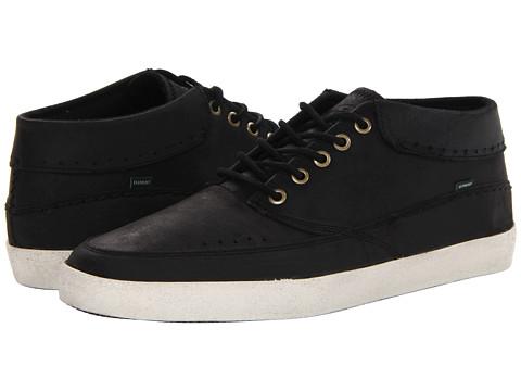 Adidasi Element - Cheyenne - Black Pull-Up Leather