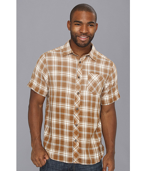 Camasi The North Face - S/S Brewton Shirt - Rare Earth Brown