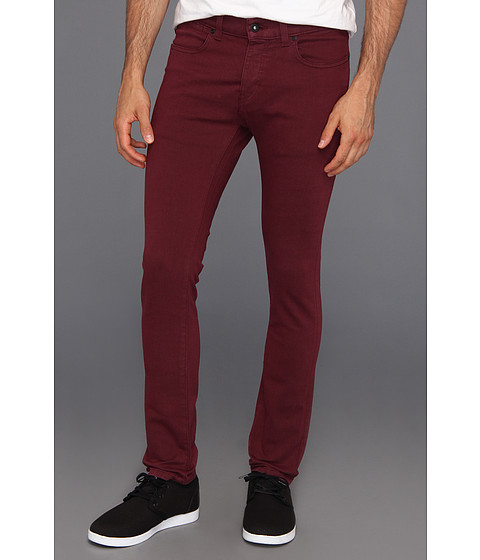 Blugi KR3W - K Skinny Denim in Oxblood - Ox Blood