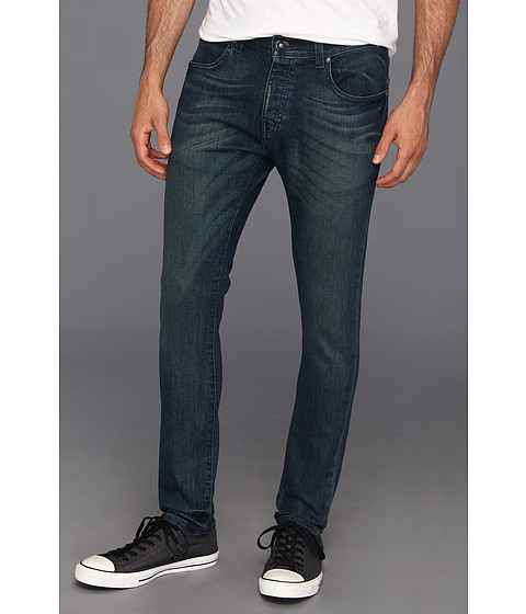 Blugi KR3W - K Slim Taper Jean in Worn Blue - Worn Blue