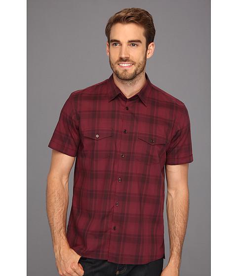 Tricouri Calvin Klein - Madras Voile S/S Shirt - Wine