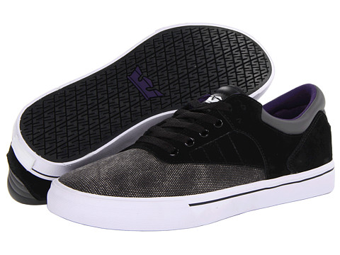 Adidasi Supra - Griffin - Black/Charcoal/White