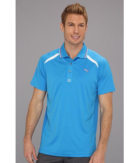 Tricouri PUMA - Laser Cut Polo - Brilliant Blue