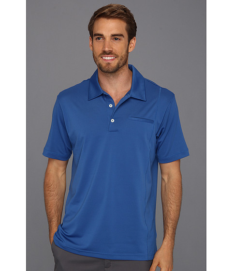Tricouri adidas - ClimaLiteî Pique Pocket Polo - Ultramarine