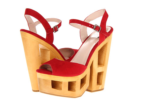 Pantofi Dolce Vita - Wicked - Red Suede